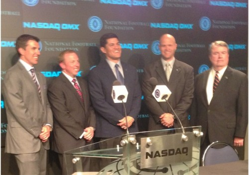 A CFB History Lesson Courtesy of NFF, Nasdaq &amp; the 2013 College Football Hall of Fame